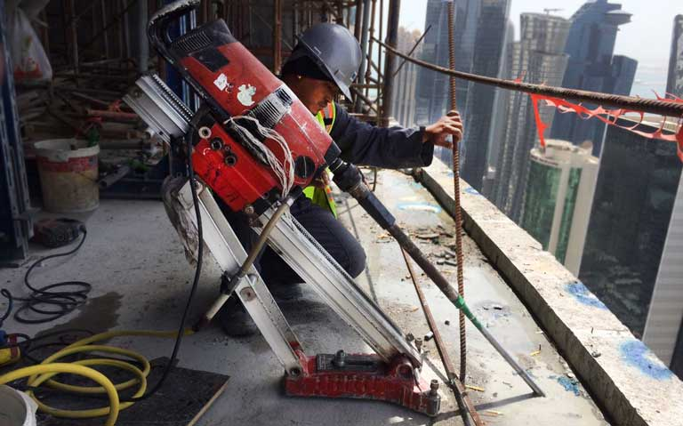 Drillone Contracting & Trading Concrete Diamond Coring Drilling Cutting