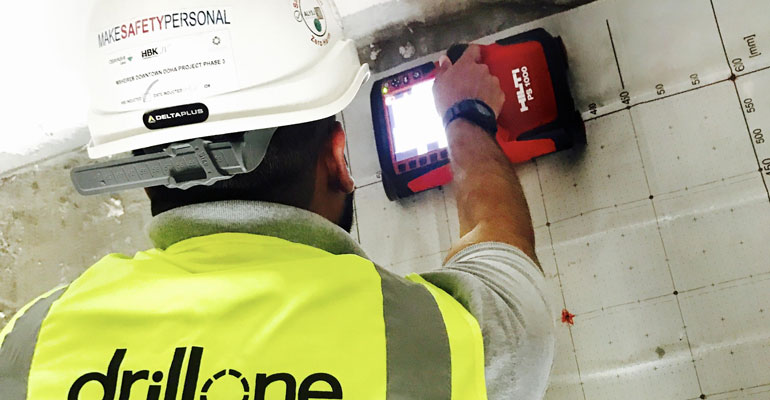 Drillone Contracting & Trading Concrete Diamond Coring Drilling Cutting Scanning